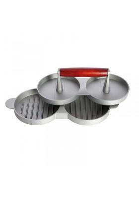 Burger-Presse 2-fach Aluminium